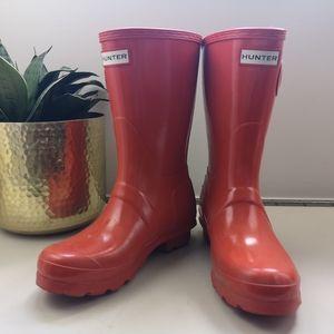 Hunter mid calf boots